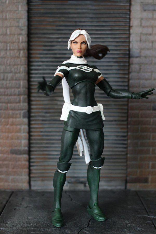 Marvel Legends X Men Legacy Rogue Custom Figure By Tonydabeanner Marvel Superheroes Marvel Entertainment Marvel Legends