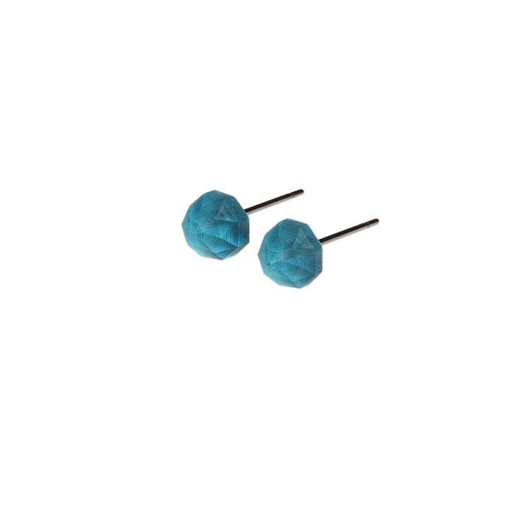 kolczyki mini Monopolka / handmade mini earings - polscy projektanci / polish fashion designers - ELSKA