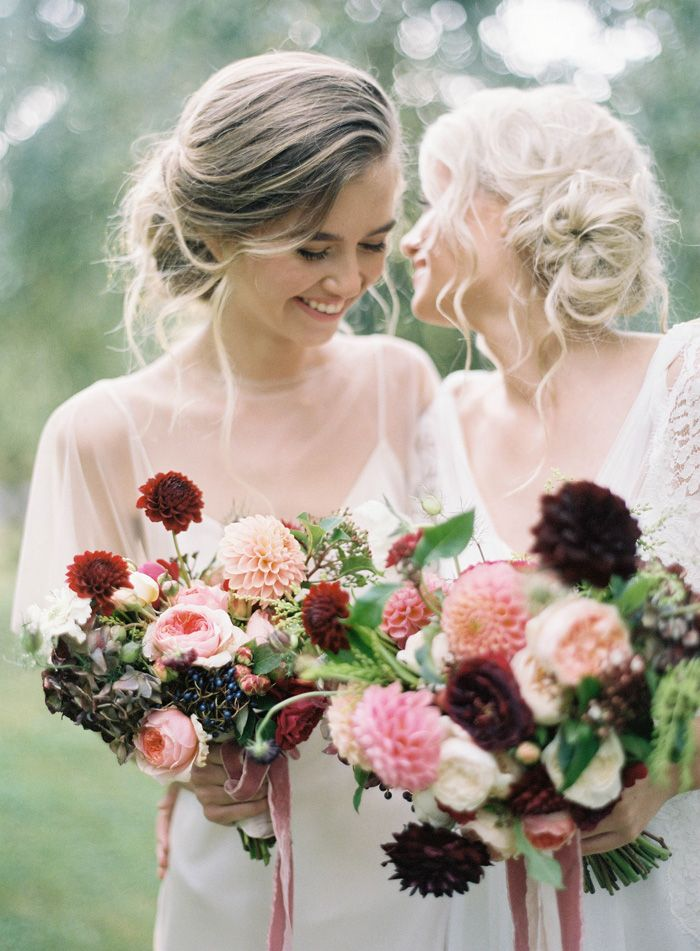 bridesmaids | jen huang photo | magnolia rouge | fleuriste