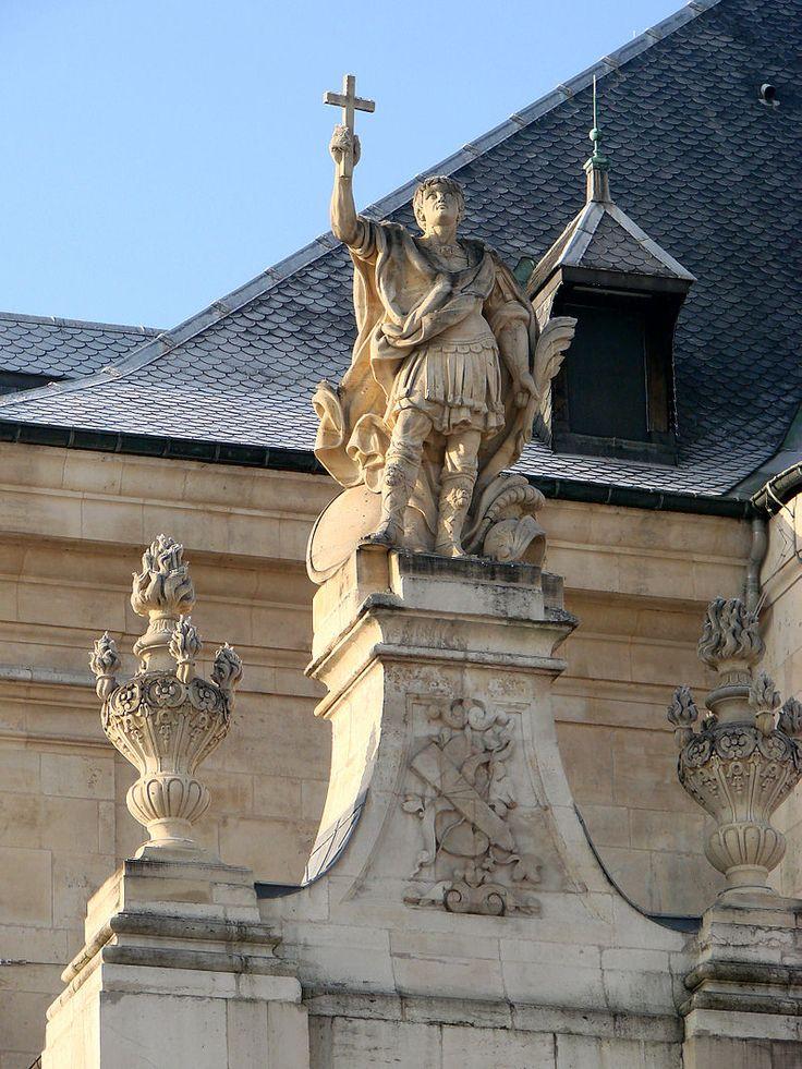 Église Saint-Sébastien de Nancy . Saint-Sébastien