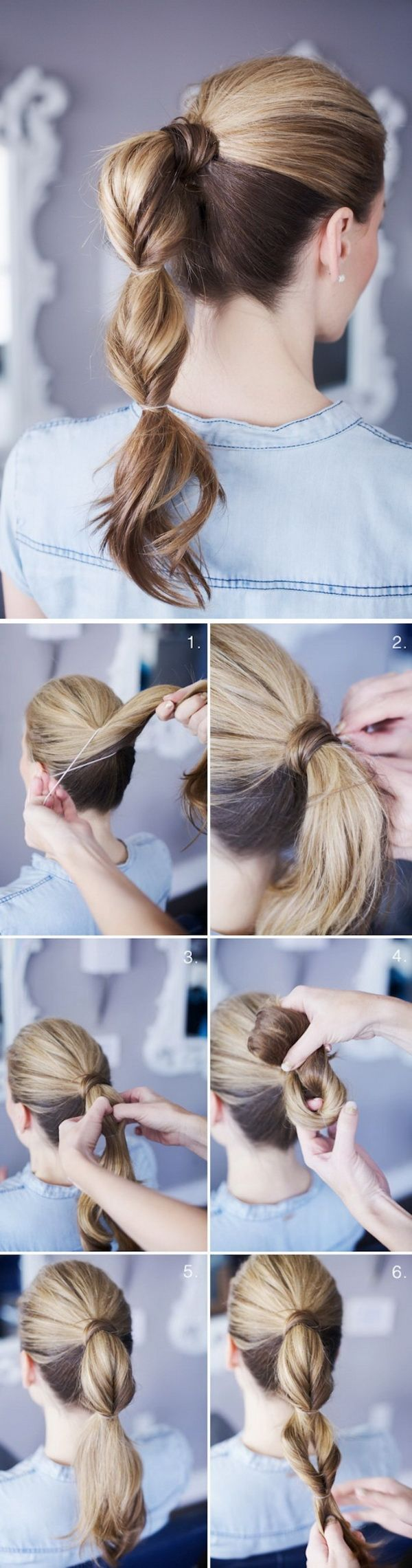 Topsy Tail Ponytail Tutorial