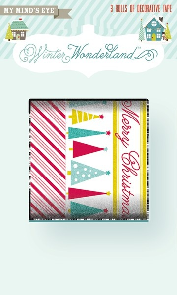 Christmas washi tape  {My Minds Eye at Two Peas in a Bucket}