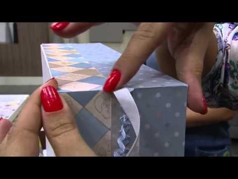 Mulher.com - 27/01/2016 - Caixa de recordação baby - Marisa Magalhães PT1 - YouTube