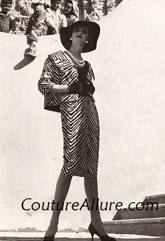 Couture Allure Vintage Fashion: Luis Estevez - 1960, Part 1