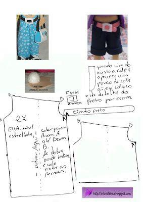 2    CÓMO HACER LOS PANTALONES FOFUCHAS: Goma Eva, De Fofuchas, How, Pants, Fazer Calças, Como Hacer Pantalon Fofucha, Molds, Calças De, Crafts
