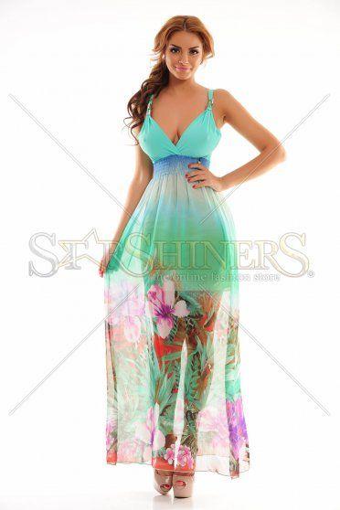 MissQ Upper Shelter Mint Dress