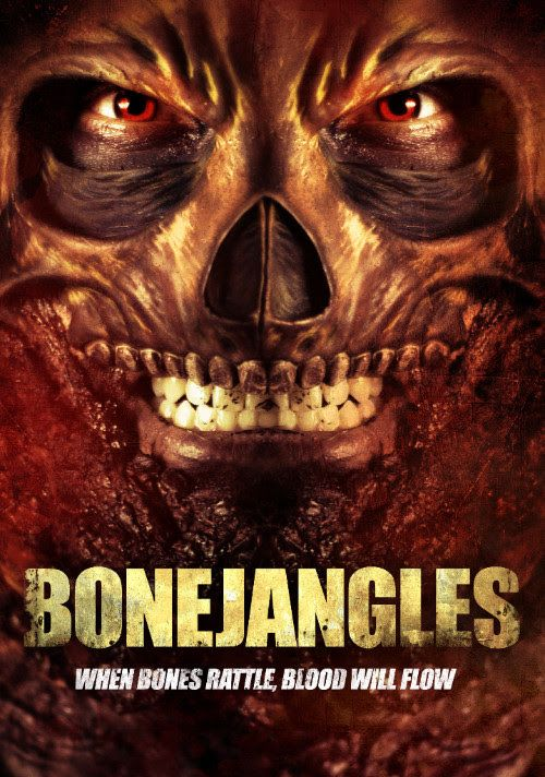 Legendary supernatural killer Mr. Bonejangles is a highly efficient destroyer of lives. While he is being transported by a group of police, they break down in a town cursed with monsters. The police must release Mr. Bonejangles if the town has a fighting chance. Bonejangles stars Reggie Bannister, Elissa Dowling, Kelly Misek, Jr., Julia Cavanaugh, Devin Toft, Jamie Scott Gordon, Lawrence Wayne Curry, and Hannah Richter. Be prepared for this B grade movie fun when it comes to VOD on July 18…