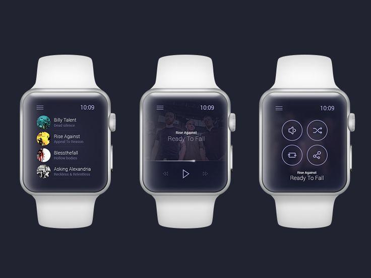 Apple Watch - Music Player by Martin Štrba