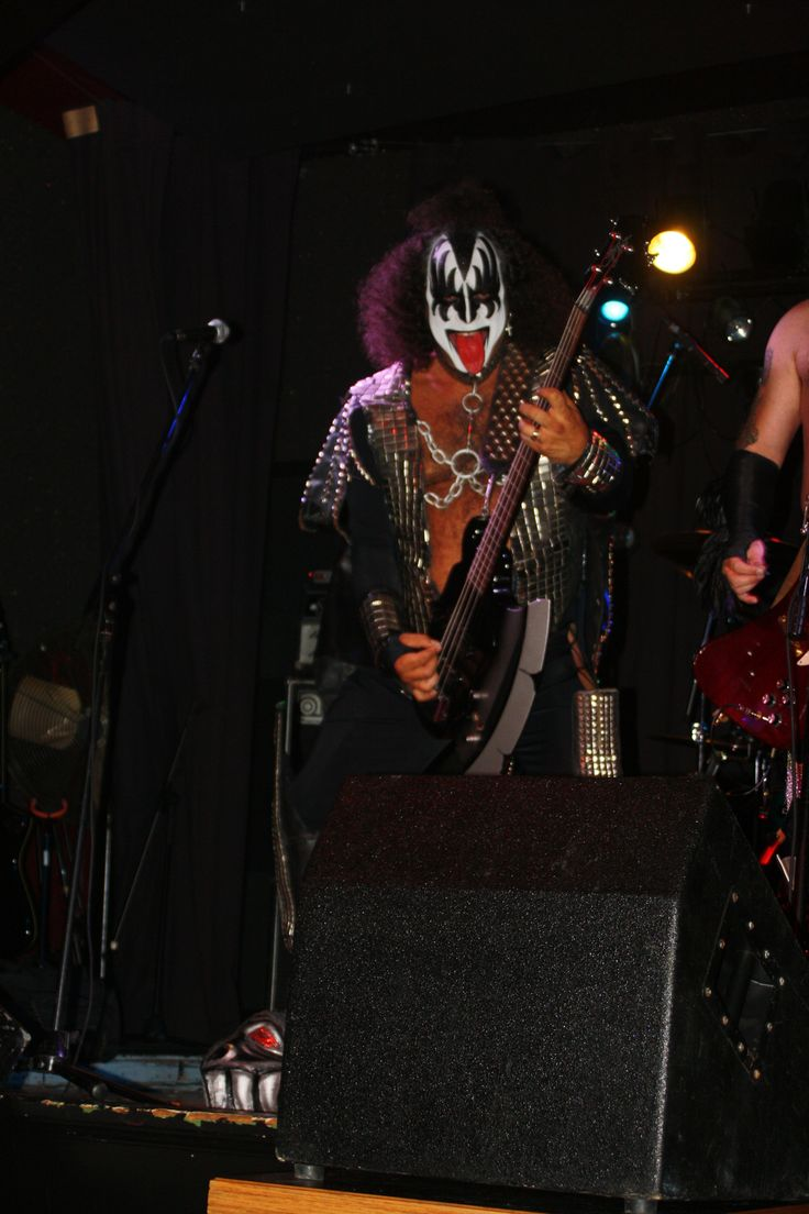 Kiss midget cover band the talented