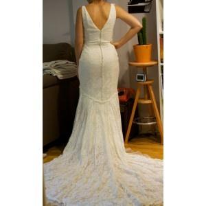 VESTIDO DE NOVIA DE PRONOVIAS nueva adquisicion para el armario de www.mallstreet.es  #vestidos de novia de segunda mano