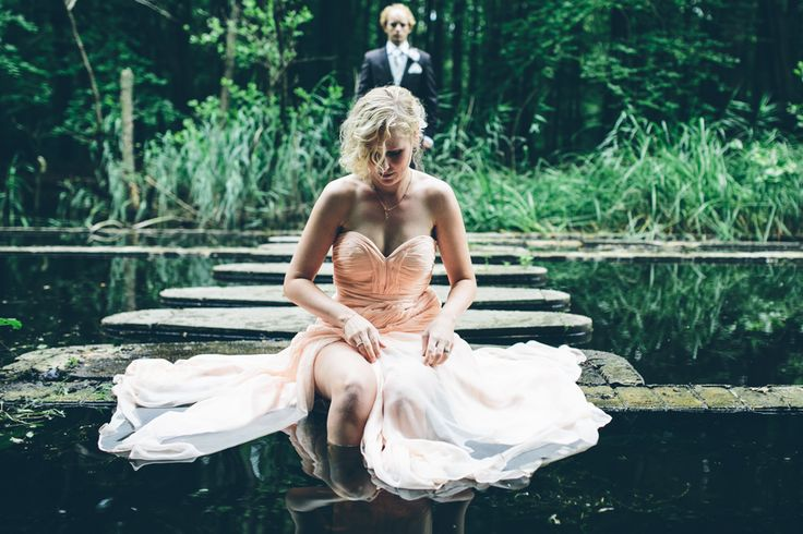 Trash the dress, wedding pictures. Photo by Sjoerd Banga, © Banganimation
