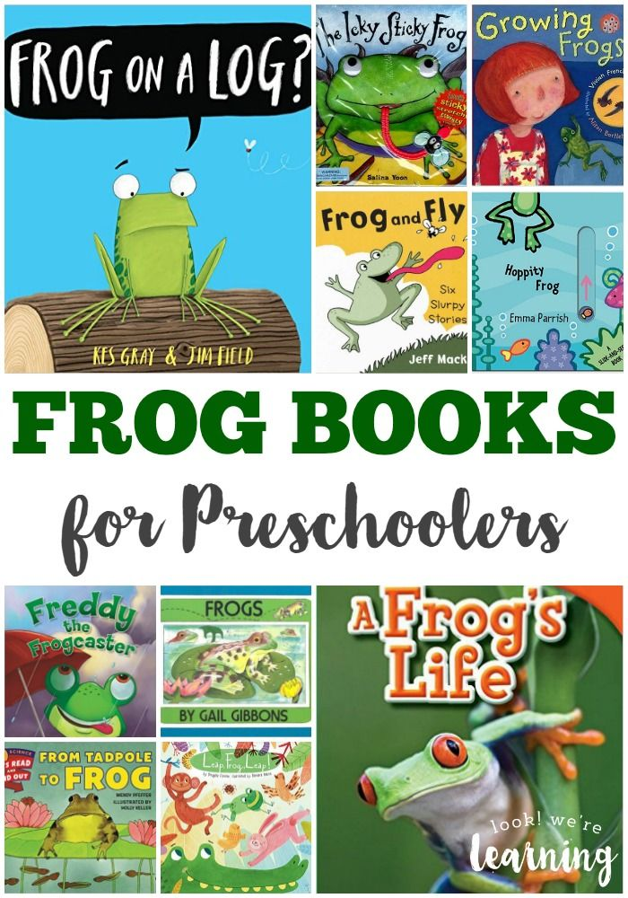 Get your little one learning about amphibians with these fun frog books for preschool!