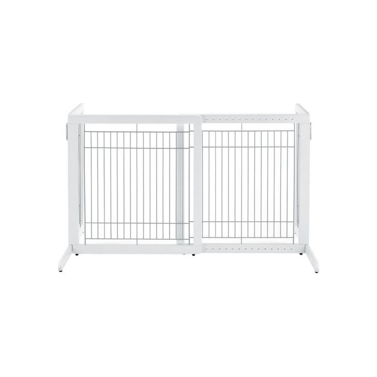 "Richell Free Standing Pet Gate HL White 28.3"" - 47.2"" x 23.6"" x 27.6"""
