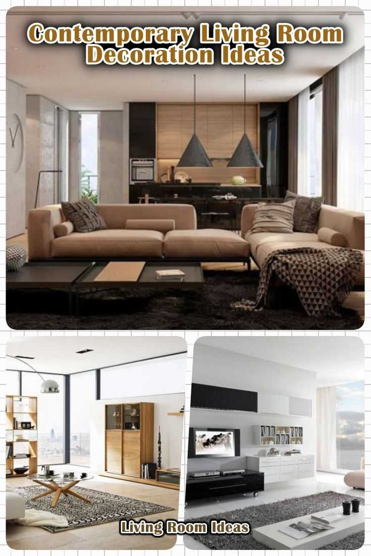 10 Contemporary Living Room Decoration Ideas With Modern Furniture Minimalist Living Room Furniture Design Living Room Modern Furniture Living Room #picture #of #contemporary #living #room