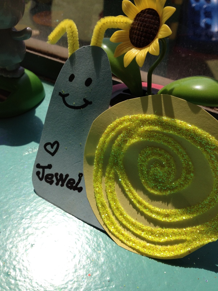 S Is For Snail Toddler Craft