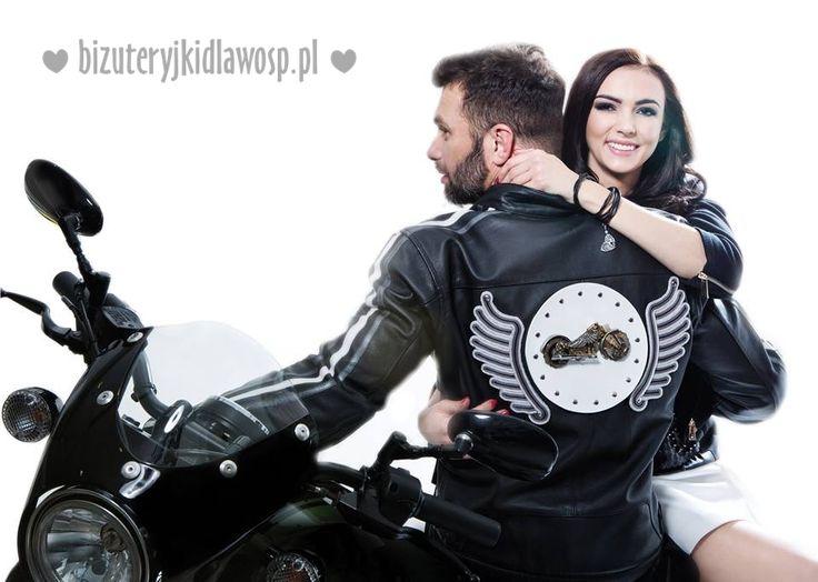 Motorcycle jacket Wild Eagle for charity auction GOCC http://aukcje.wosp.org.pl/motokurtka-wild-eagle-unikatowa-bizuteryjki-i1234288