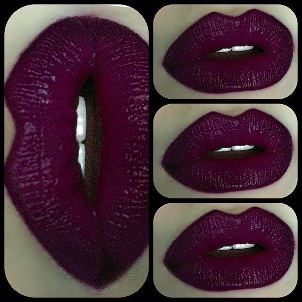 Perfect Pout Lip Color by Fergie for Wet n Wild » Ferguson Crest Cabernet $3.49 + Lip Pencil by MAC » Currant $15
