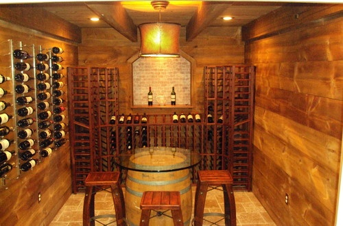Eclectic Wine Cellar Photos Design, Pictures, Remodel, Decor and Ideas - page 7