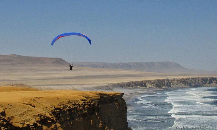 Un posto unico dove volare e lasciarsi tutto alle spalle! Reserva de Paracas Pisco Peru #ahevision #peru2016 www.ahevision.com