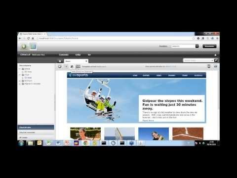 Webinar: Oracle WebCenter Sites: mucho más que gestión de contenidos