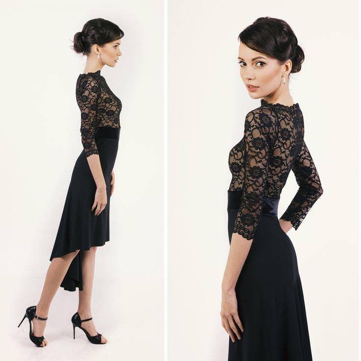 Black elegance  #lace #style #blackdress #tangodress #fashion #illango