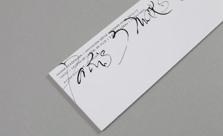 Fashion week A/W 2012 invitations | Wallpaper*