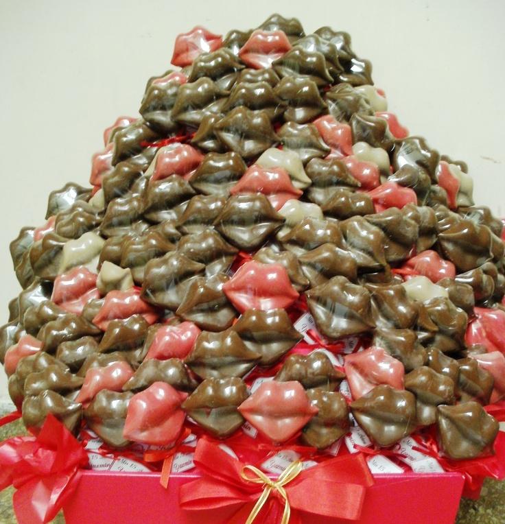 Labios de chocolate para los quince años de Yazmin