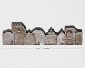 miniature houses tile 3 - silver ceramic tile - clay village tile - town tile - home decor - interior design - wall hanging - tile art. €45,00, via Etsy.Tile Art, Miniatures House, Wall Hanging, House Tile, Ceramics Tile, Art Miniatures, Home Decor, Ceramics Ideas, Miniature Houses