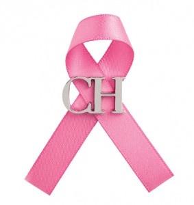 Carolina Herrera nos presenta su proyecto contra el cáncer de mama. CH
