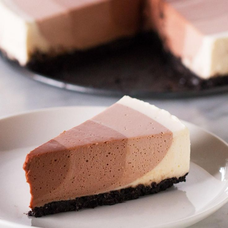 Chocolate Ripple Cheesecake by Tasty - need gelatin packet