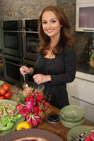 Gorgeous Giada De Laurentiis -- my favorite TV chef!!! A Splashtablet iPad Case repin. Yes you can stick your iPad to your cabinets with this  suction-mount case at eye level! Find them on Amazon! http://www.amazon.com/Shower-Bathe-Suction-mount-Waterproof-Case/dp/B00TG1FFLS