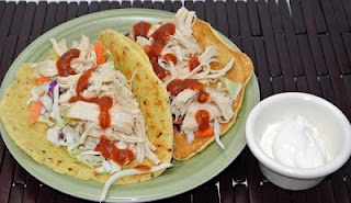 Clean- Homemade taco shell recipe