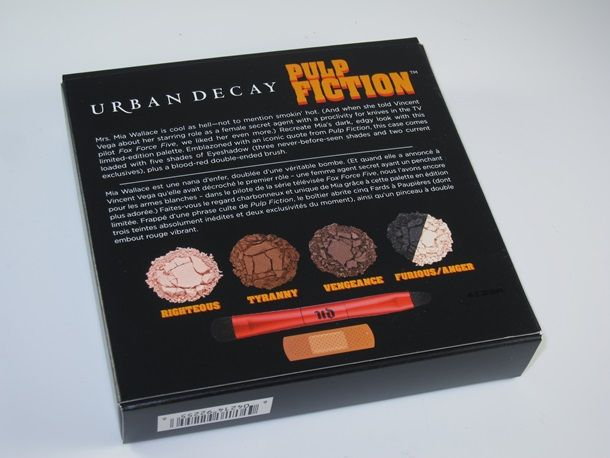 Urban Decay Pulp Fiction Palette Review and Swatches