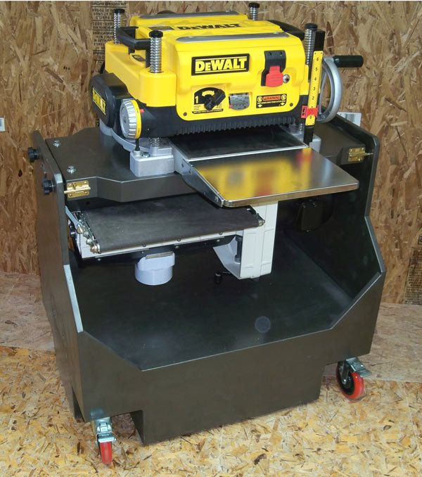 Planer Stand Plans - WoodWorking Projects & Plans