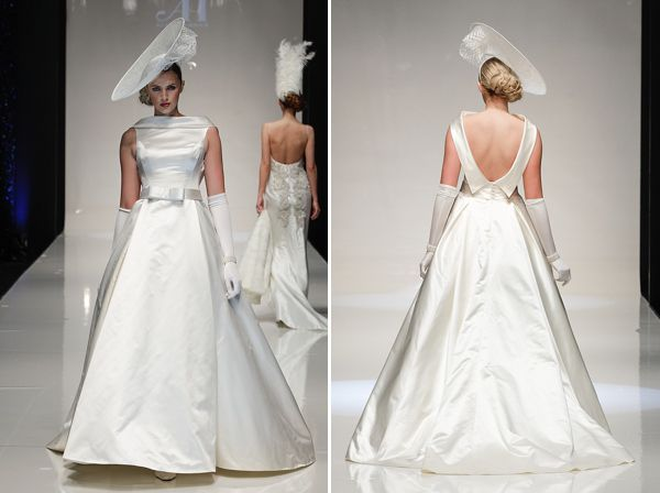 Timeless Beauty, by Alan Hannah ~ Wedding Dresses Inspired By Iconic Looks Of The 20th Century. http://www.alanhannah.co.uk/