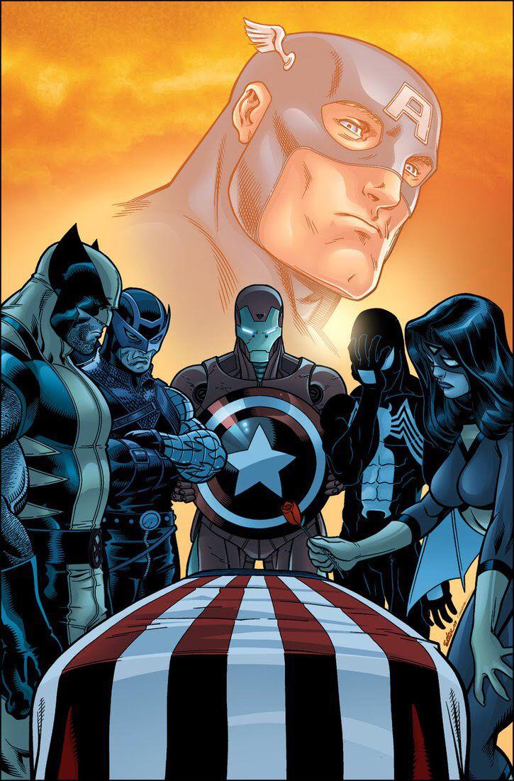 The death of Captain America  La muerte del Capitán América