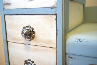 Shabby Chic Furniture by Oliver Treasures!