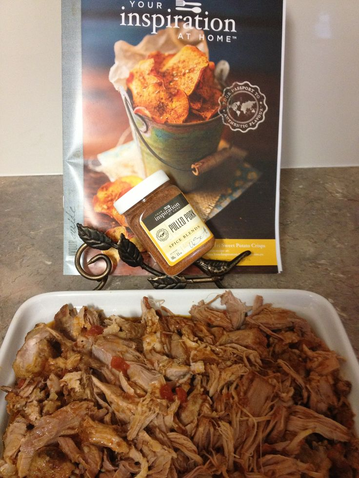 YIAH Pulled Pork , Great the next day for lunches ...