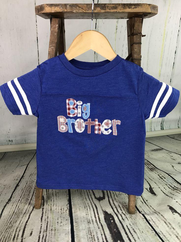 Big brother toddler shirt, Toddler big brother shirt, Big brother shirt, Jersey football tee, Toddler jersey tee, Big brother, Big bro by CosyDesignscd on Etsy https://www.etsy.com/listing/507261658/big-brother-toddler-shirt-toddler-big
