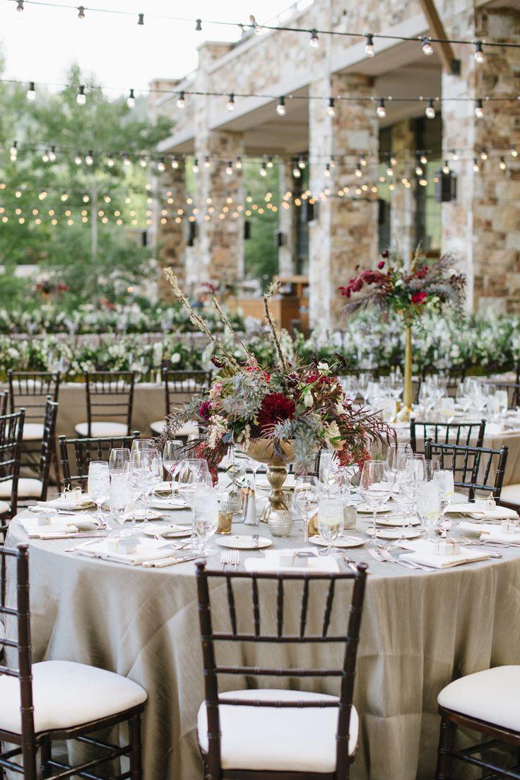Destination Wedding In Park City Utah Burgundy Wedding