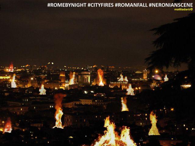 Rome by night: neronian scene (mattiadarò©)