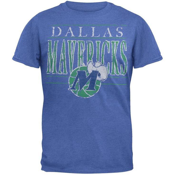 Dallas Mavericks - Crackle Classic Logo Soft T-Shirt
