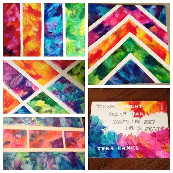 DIY INSPO: Custom melted crayon art