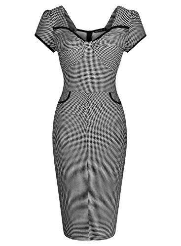 Miusol Women's Deep-V Neck Formal Plaid Slim Evening Dress Miusol http://www.amazon.com/dp/B011I4A0CO/ref=cm_sw_r_pi_dp_Yijawb0G3KFK7