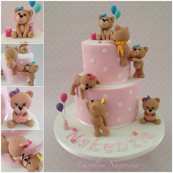 Baby Shower Decorated Cakes: 209 Best Images About Αρκουδάκια και άλλα