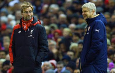 Mobile live score Today livescore:  6 pictures that prove Arsene Wenger and  Jurgen K...