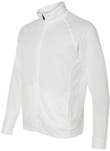 Image of Yoga Clothing For You Mens Lightweight Performance Jacket, 2XL White