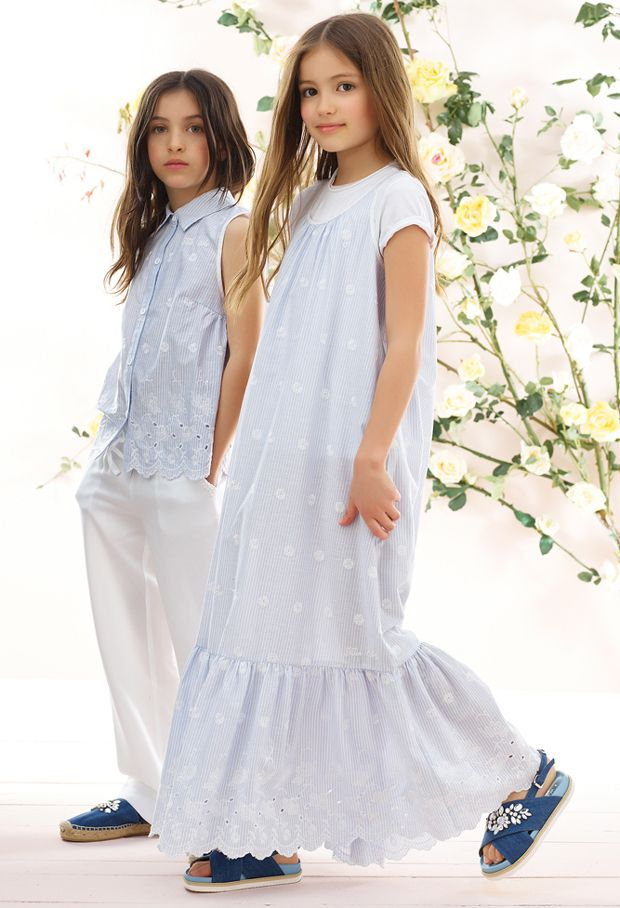 TWIN-SET by Simona Barbieri – Spring Summer Junior collection 2017