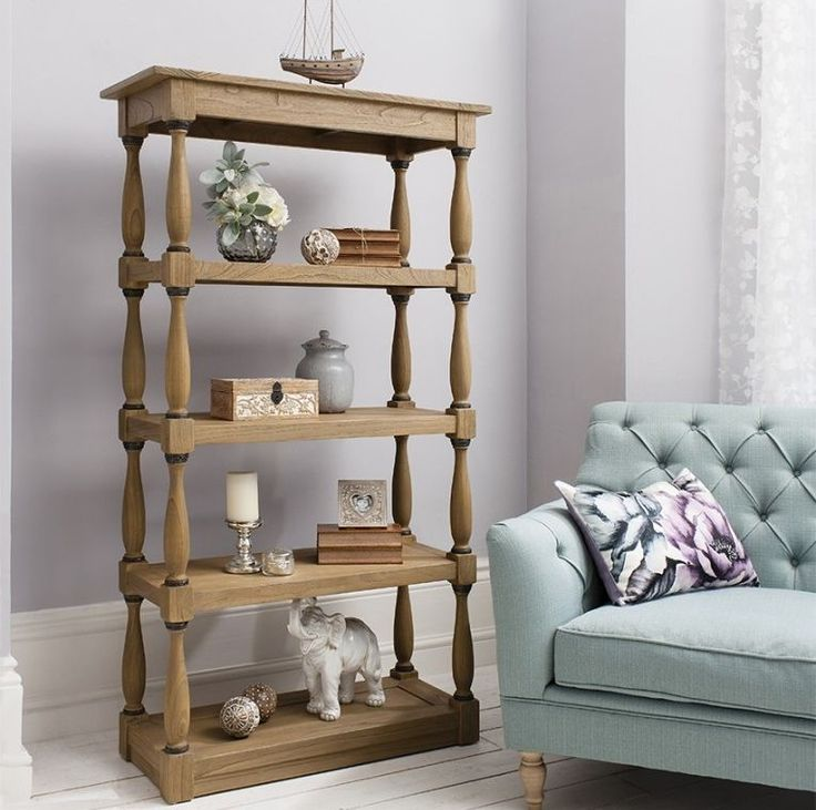 Gallery Direct Cotswold Open Display Cabinet #DisplayCabinet #OpenDisplayCabinet #AssembledDisplayCabinet Dimensions:W 95cm x D 40cm x H 171cm Assembly:Assembled