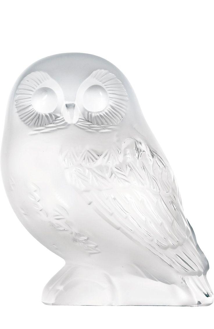 Lalique Скульптура Owl Бесцветный 22 640 Р.